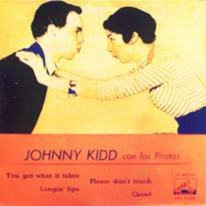 Kidd, Johnny And Pirates, The - La Voz De Su Amo (EMI)7EPL 13.434