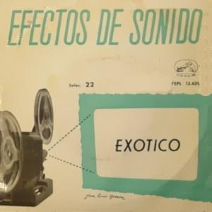 Efectos De Sonido - La Voz De Su Amo (EMI)7EPL 13.439