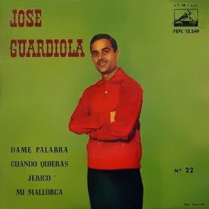 Guardiola, José - La Voz De Su Amo (EMI)7EPL 13.549