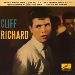 Richard, Cliff - La Voz De Su Amo (EMI)7EPL 13.588