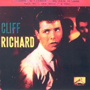 Richard, Cliff - La Voz De Su Amo (EMI)7EPL 13.596