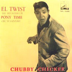 Checker, Chubby - La Voz De Su Amo (EMI)7EPL 13.690