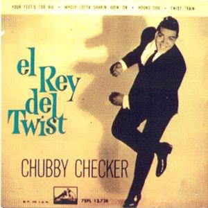 Checker, Chubby - La Voz De Su Amo (EMI)7EPL 13.738