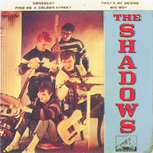 Shadows, The - La Voz De Su Amo (EMI) 7EPL 13.741