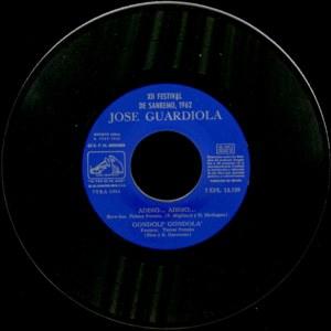 José Guardiola - La Voz De Su Amo (EMI)7EPL 13.759