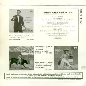 Tony And Charley - La Voz De Su Amo (EMI)7EPL 13.810