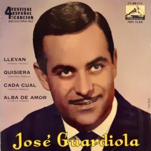 Guardiola, José - La Voz De Su Amo (EMI)7EPL 13.821