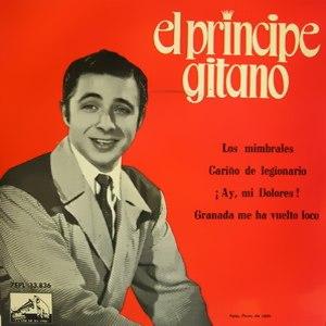 Príncipe Gitano, El - La Voz De Su Amo (EMI)7EPL 13.836
