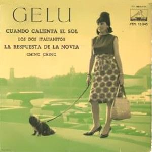 Gelu - La Voz De Su Amo (EMI)7EPL 13.845