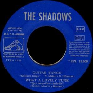 Shadows, The - La Voz De Su Amo (EMI)7EPL 13.850