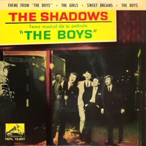 Shadows, The - La Voz De Su Amo (EMI) 7EPL 13.857
