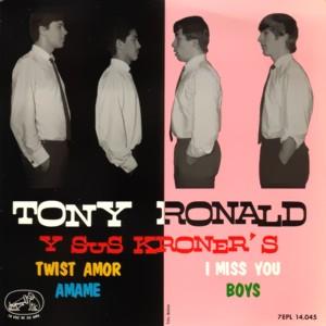 Ronald, Tony - La Voz De Su Amo (EMI)7EPL 14.045