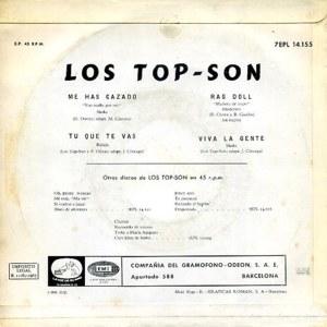 Top-Son, Los - La Voz De Su Amo (EMI)7EPL 14.155