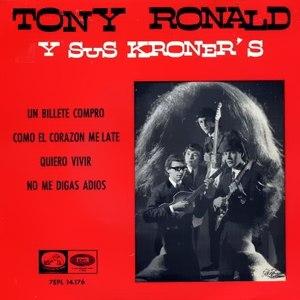 Ronald, Tony - La Voz De Su Amo (EMI)7EPL 14.176