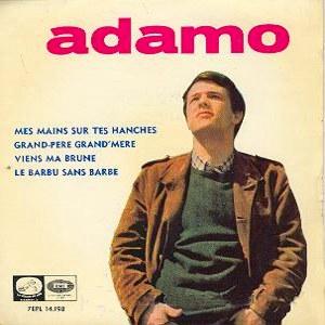 Adamo - La Voz De Su Amo (EMI)7EPL 14.198