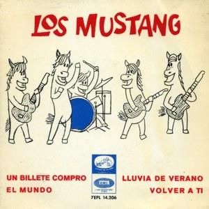 Mustang, Los - La Voz De Su Amo (EMI)7EPL 14.206