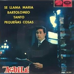 Aguilé, Luis - La Voz De Su Amo (EMI)7EPL 14.209