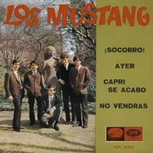 Mustang, Los - La Voz De Su Amo (EMI)7EPL 14.225