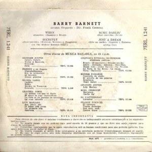 Barry Barnett - La Voz De Su Amo (EMI)7ERL 1.241