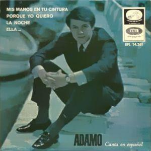 Adamo - La Voz De Su Amo (EMI)EPL 14.261