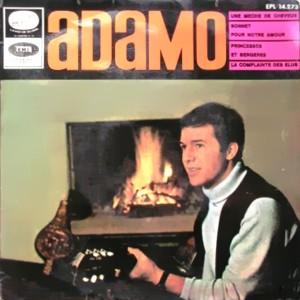 Adamo - La Voz De Su Amo (EMI)EPL 14.273