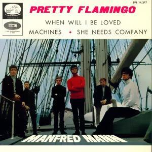 Manfred Mann - La Voz De Su Amo (EMI)EPL 14.277