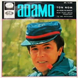 Adamo - La Voz De Su Amo (EMI)EPL 14.288