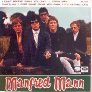 Manfred Mann - La Voz De Su Amo (EMI)EPL 14.303