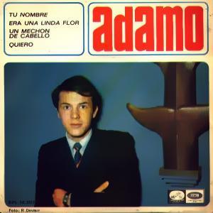 Adamo - La Voz De Su Amo (EMI)EPL 14.307