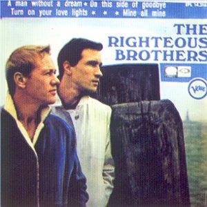Righteous Brothers, The - La Voz De Su Amo (EMI)EPL 14.316