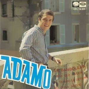 Adamo - La Voz De Su Amo (EMI)EPL 14.319