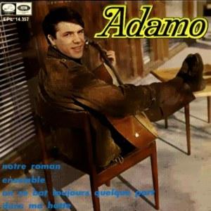 Adamo - La Voz De Su Amo (EMI)EPL 14.357