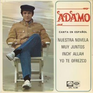 Adamo - La Voz De Su Amo (EMI)EPL 14.380