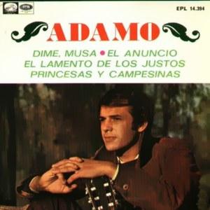 Adamo - La Voz De Su Amo (EMI)EPL 14.394