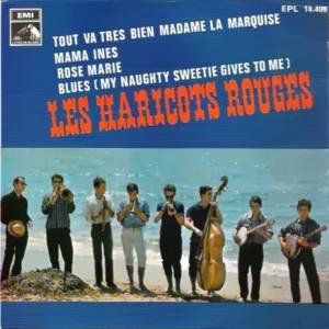 Haricots Rouges, Les - La Voz De Su Amo (EMI)EPL 14.406