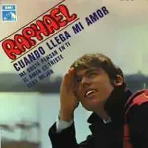 Raphael - La Voz De Su Amo (EMI)EPL 14.409