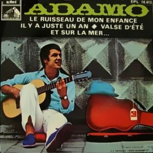 Adamo - La Voz De Su Amo (EMI)EPL 14.413