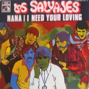 Salvajes, Los - La Voz De Su Amo (EMI)J 006-20.101