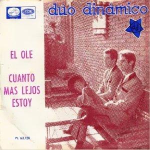 Dúo Dinámico - La Voz De Su Amo (EMI)PL 63.120
