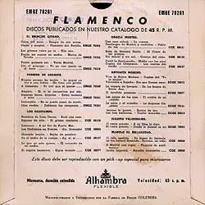 Porrina De Badajoz - Alhambra (Columbia)EMGE 70261