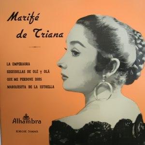 Triana, Marifé De - Alhambra (Columbia)EMGE 70685