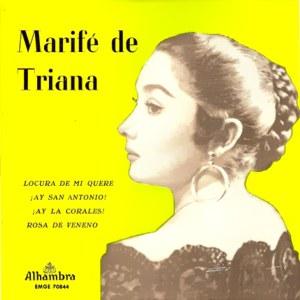 Triana, Marifé De - Alhambra (Columbia)EMGE 70844