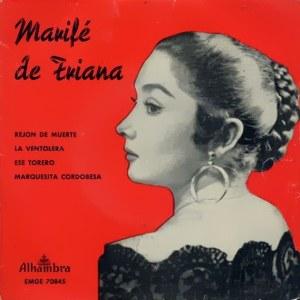 Triana, Marifé De - Alhambra (Columbia)EMGE 70845