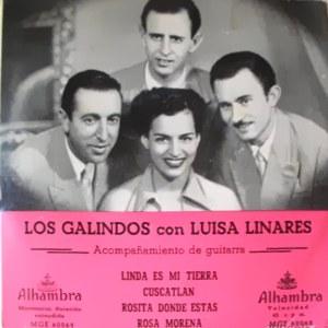 Linares Y Los Galindos, Luisa - Alhambra (Columbia)MGE 60048
