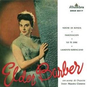 Elder Barber - Alhambra (Columbia)SMGE 80117