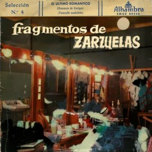 Fragmentos De Zarzuelas Y Operetas