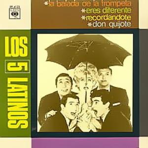 Cinco Latinos, Los - CBSEP 6123