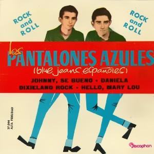 Pantalones Azules, Los - Discophon27.044