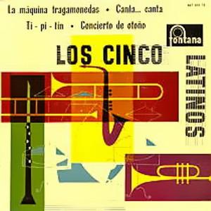 Cinco Latinos, Los - Fontana467 035 TE