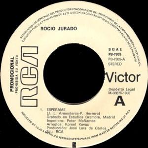 Rocío Jurado - RCAPB-7805